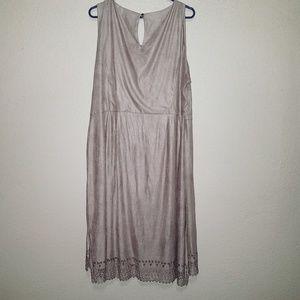 Cato Dresses - Cato suede dress